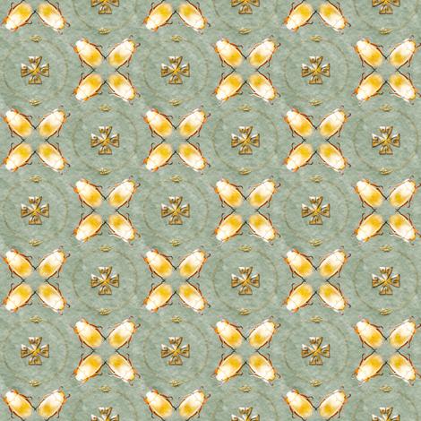 golden scarab  fabric by keweenawchris on Spoonflower - custom fabric