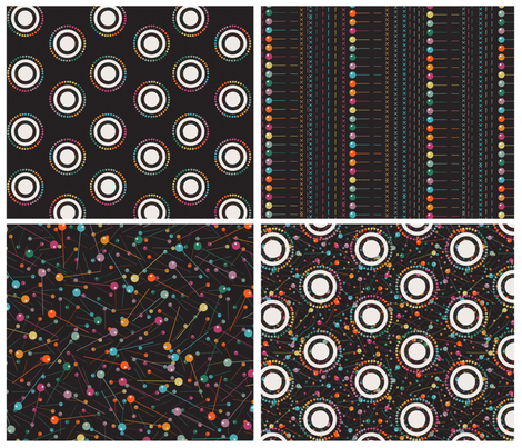sewing pins  fabric by kociara on Spoonflower - custom fabric
