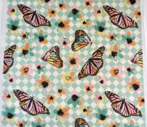 Spring Checkerboard Butterflies