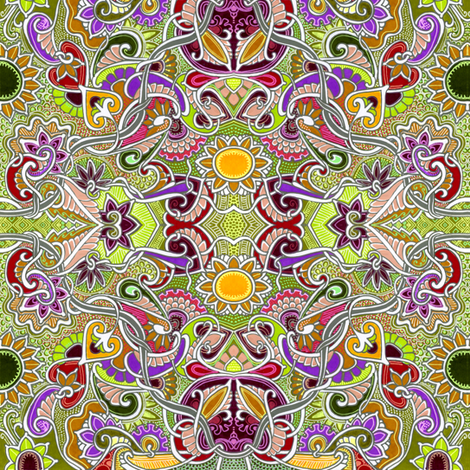 For Girl Eyes Only fabric by edsel2084 on Spoonflower - custom fabric