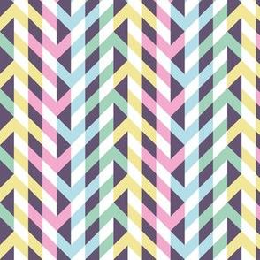Pastel arrows of illusion