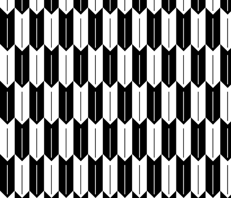 fletching fabric by pennyfarthing on Spoonflower - custom fabric