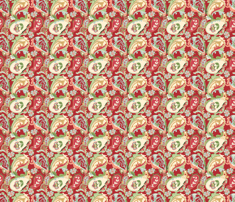 Paisley fabric by lana_gordon_rast_ on Spoonflower - custom fabric