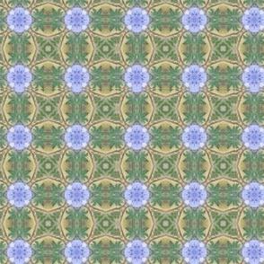 Blue Bonnet Thistles