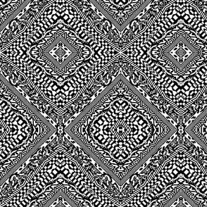 Black and White Crazy Tilt