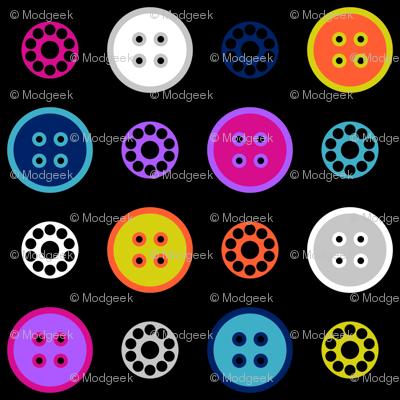 Button and Bobbin Dot Black
