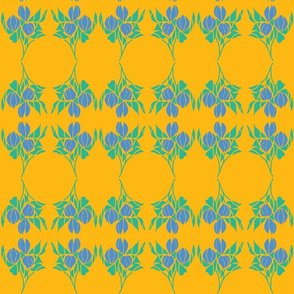 Wild Flowersand lemonade/Periwinkle on lemon