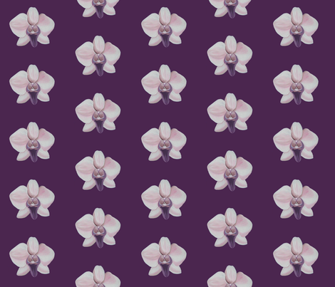 Lilac Orchid fabric by interrobangart on Spoonflower - custom fabric