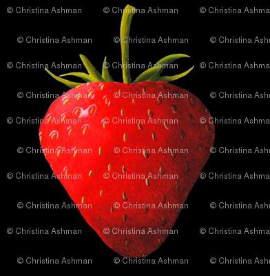 Strawberry, black