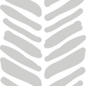 painted grey herringbone