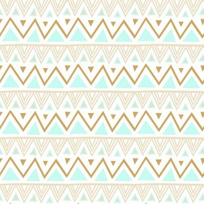 Pastel Tribal - Mint