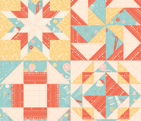 Notions + Scissors + Grid + Pins Contest View