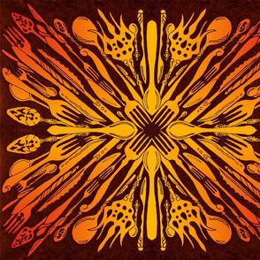 Utensils Kaleidoscope 8