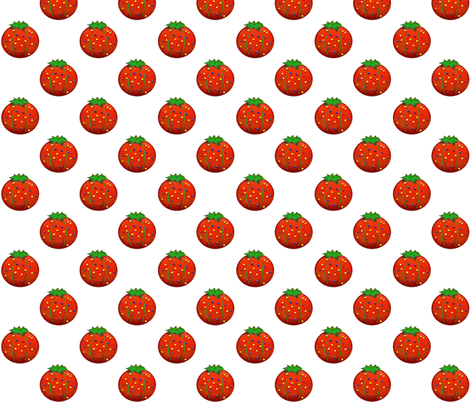 Pincushion Polkadot fabric by beesocks on Spoonflower - custom fabric