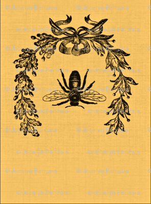 Honey bee ditty bags