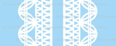 Lace stripe