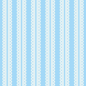 Lace stripe