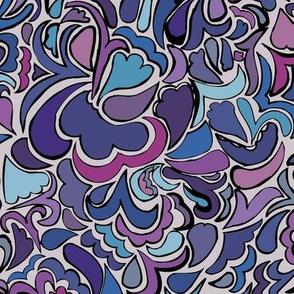 1960's Purple Pop