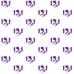 Purple 13.1 half-marathon