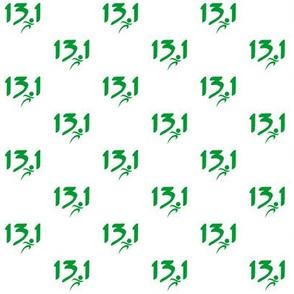 Green 13.1 half-marathon