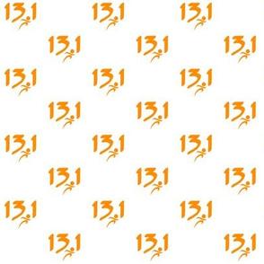 Orange 13.1 half-marathon