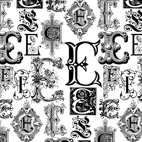 Regal E's fabric by wrapartist on Spoonflower - custom fabric