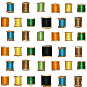 Thread Spools- large scale