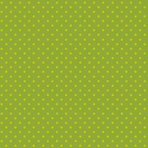 Grassy Green Polka Dots