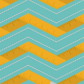Measuring Tape Chevron