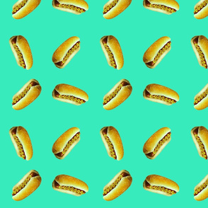 Bombastic hotdog blue ©