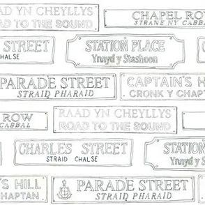 Manx Road Signs