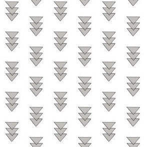 grey opaque triangles