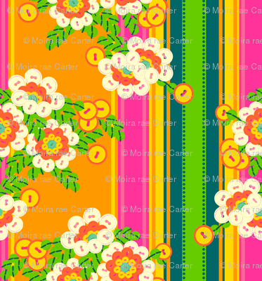 Bebuttoned'n'beribboned - pastel