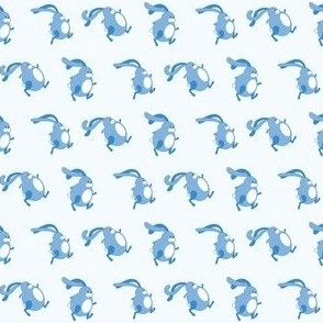 Running Bunny (blue)