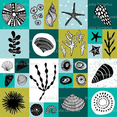 Sea life tiles