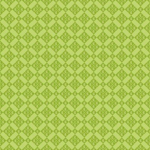 Grassy Green Geometric