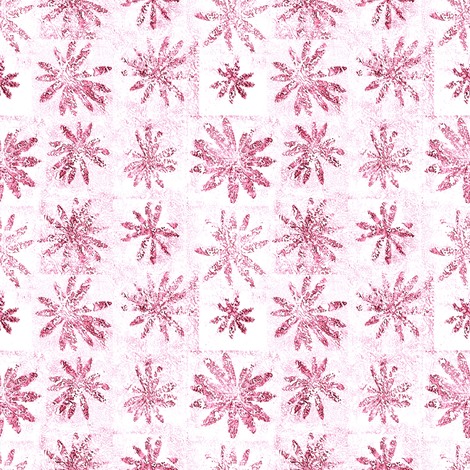february flowers fabric by keweenawchris on Spoonflower - custom fabric
