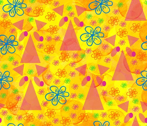Pink_rhino_on_yellow_flowers_14x12_redivided_shop_preview