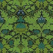Rwilliam_morris___growing_damask___seaside_garden_on_black___peacoquette_designs___copyright_2014_shop_thumb
