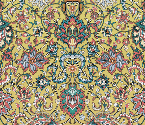 Genni's Tapestry ~ Glasstown fabric by peacoquettedesigns on Spoonflower - custom fabric