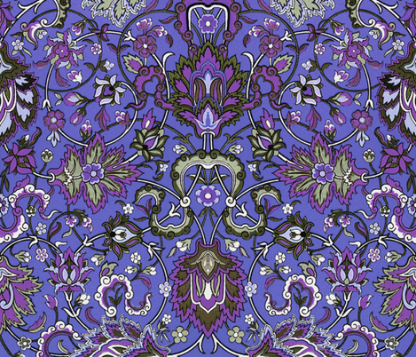 Genni's Tapestry ~ Angria fabric by peacoquettedesigns on Spoonflower - custom fabric