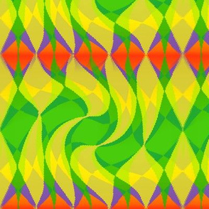 diamonds_green_orange_yellow_twirled