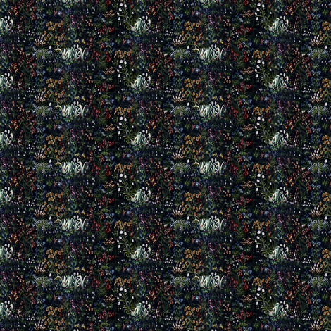 Millefleur fabric by peacoquettedesigns on Spoonflower - custom fabric