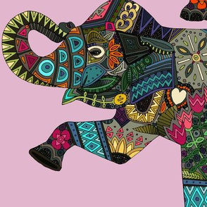 asian elephant pink II
