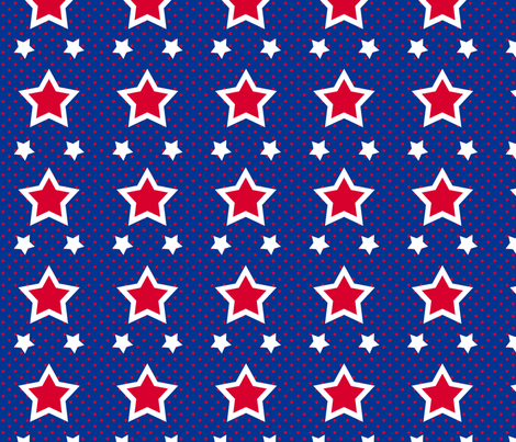 Field Of Stars fabric by bags29 on Spoonflower - custom fabric