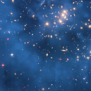 HD Hubble Finds Dark Matter Ring in Galaxy Cluster