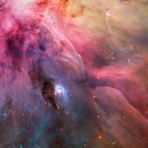 HD Abstract Art in the Orion Nebula