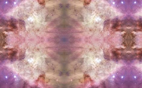 HD Orion Nebula's Biggest Stars fabric by curiosity on Spoonflower - custom fabric