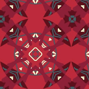 Two-Tone Tribal Tile