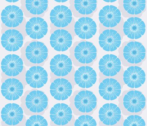 Splendid Blue fabric by brainsarepretty on Spoonflower - custom fabric